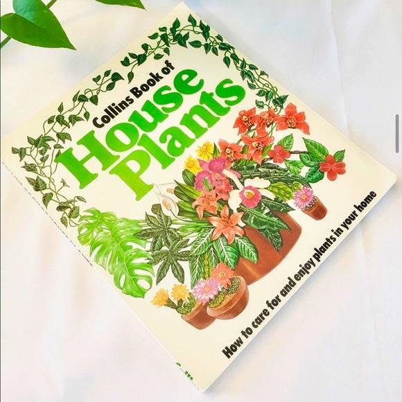 Vintage plant book